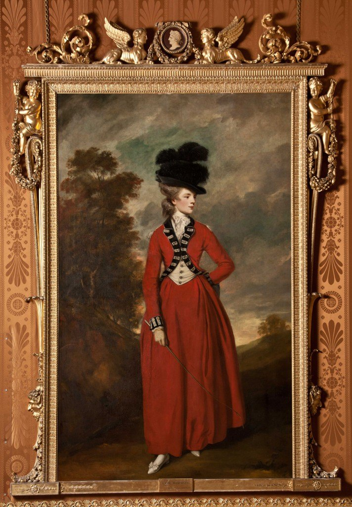 Lady Seymour Worsley, with thanks to Harewood House
