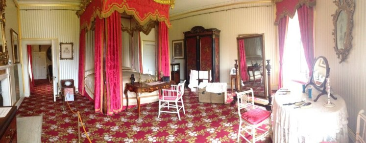 The State Bedroom, where Victoria stayed as a Princess.