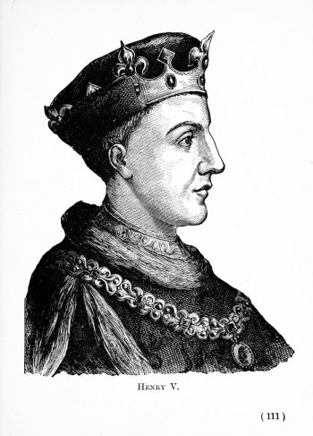 Henry V gave the sceptre as a gift to London