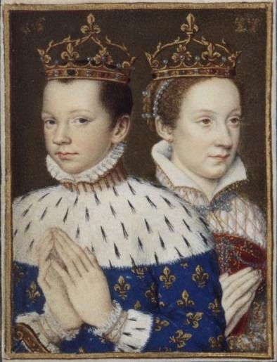 Mary and her husband the Dauphin of France. Wikimedia Commons