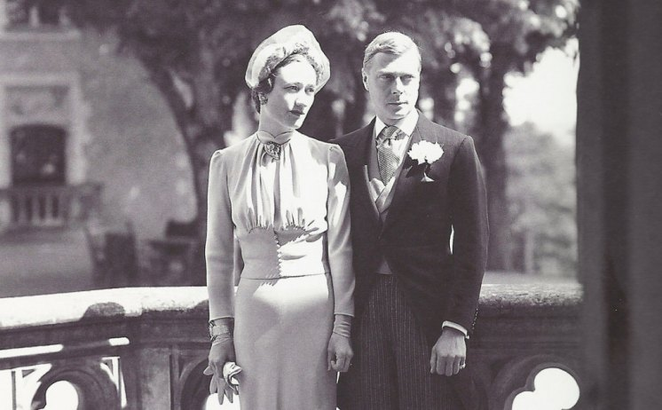 The Duke and Duchess of Windsor: Edward VIII on his wedding day after marrying Wallis Simpson in Paris. Library and Archives Canada)