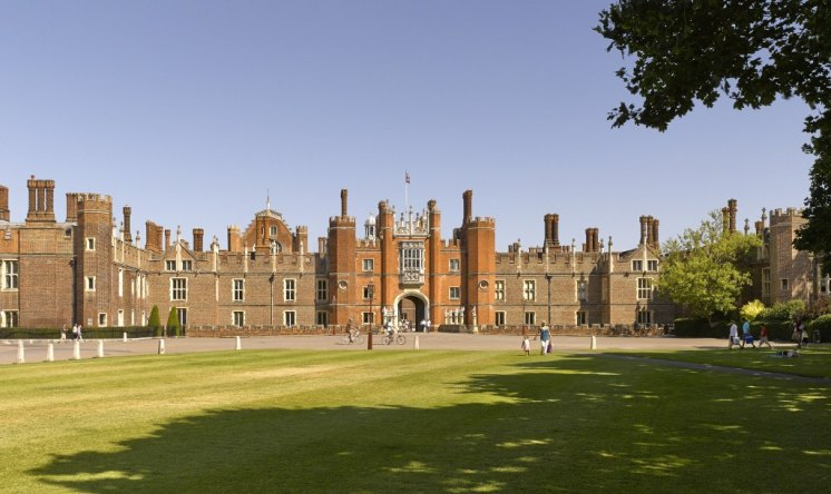 Henry VIIIs tiltyard Towers have been discovered at his famous Hampton Court Palace. HRP)