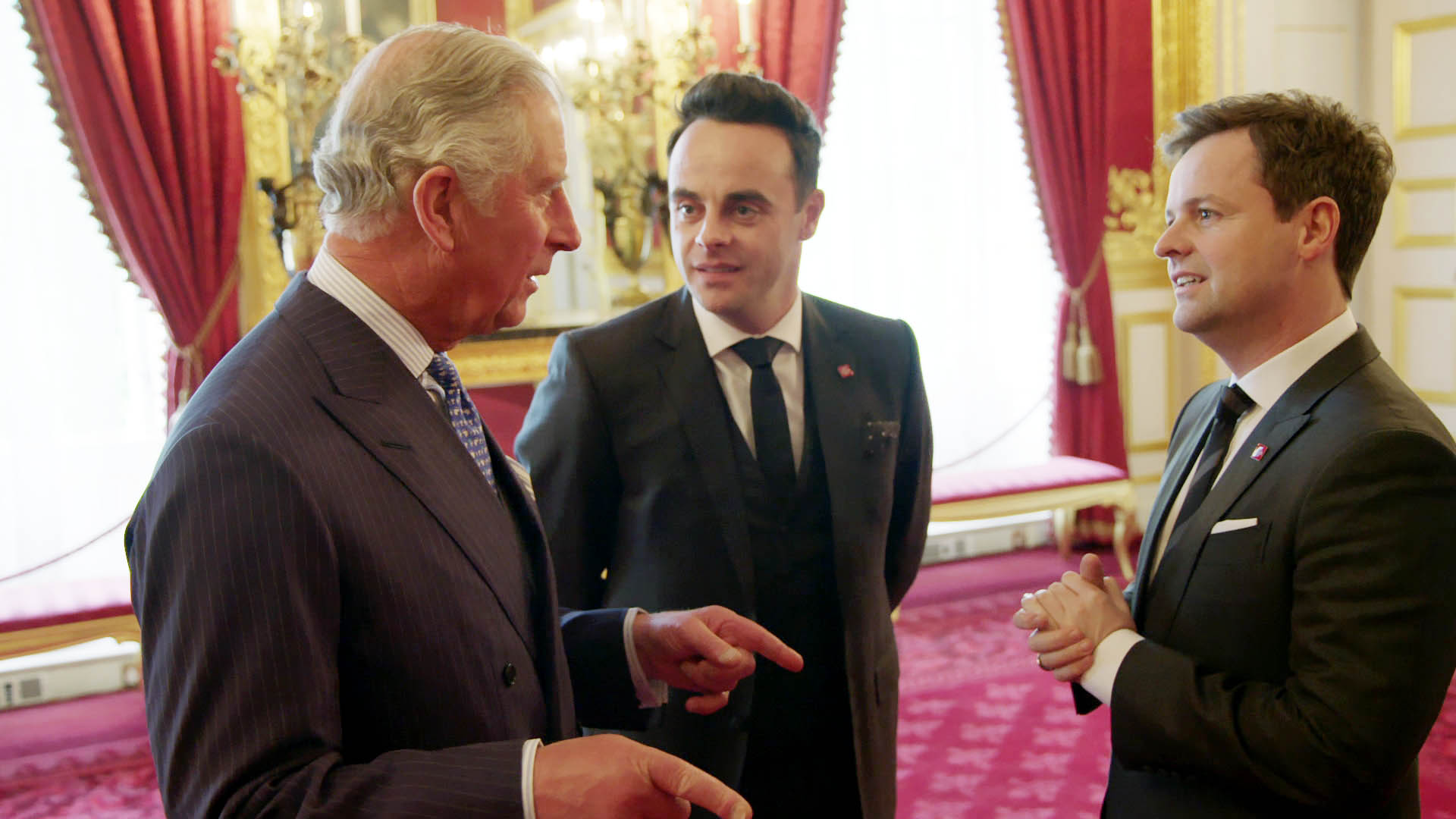ant and dec meet prince charles documentary