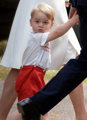 Young people were really interested in the birth of Prince George. Picture by Andrew Parsons / i-Images