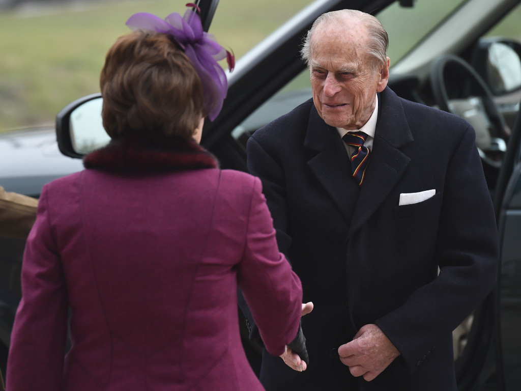 Prince Philip will be in Scotland and take a salute at the Sound Retreat. Picture by WPA Rota / i-Images