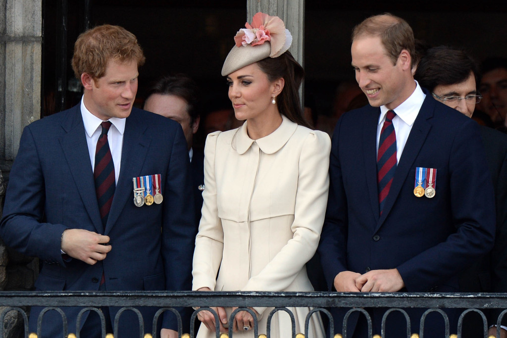 The Duke and Duchess of Cambridge and Prince Harry are the most popular members of the Royal Family, after The Queen. Picture by Andrew Parsons / i-Images