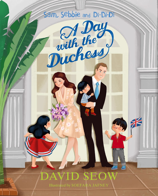 David Seow's 'A Day with The Duchess' was the first to feature William and Kate.