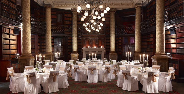 The Glsdstone Library, Royal Horseguards Hotel