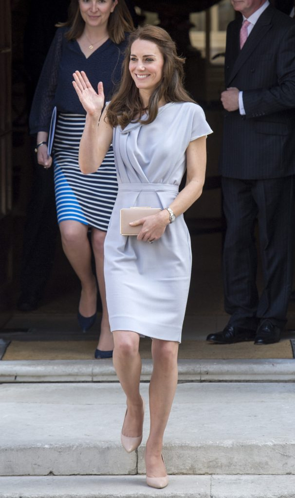 Catherine, Duchess of Cambridge attends a lunch in support of The Anna Freud Centre, at Spencer House. Picture by Ben Stevens / i-Images