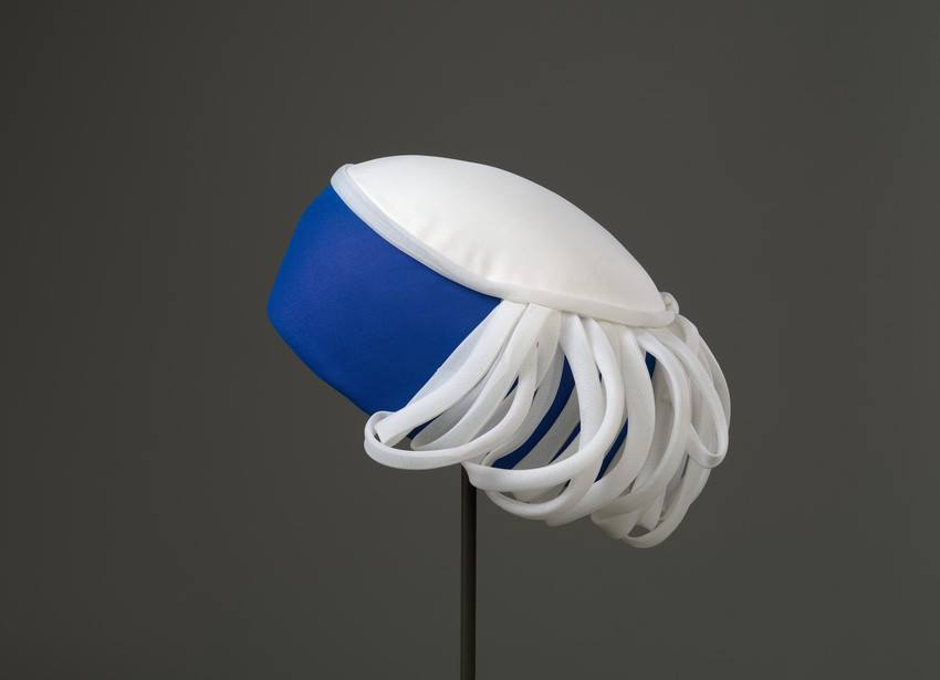 One of the Queen's more unusual hats (Royal Collection Trust/Elizabeth II)