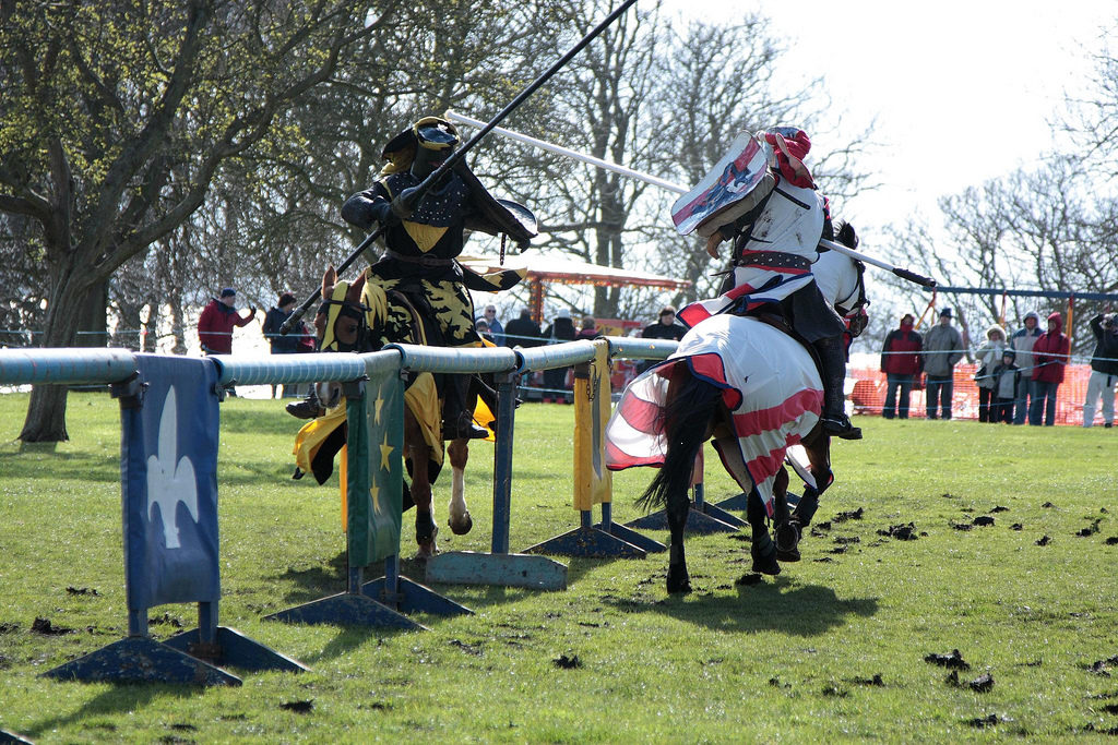 Could jousting become an Olympic sport? English Heritage thinks so (James Laing)