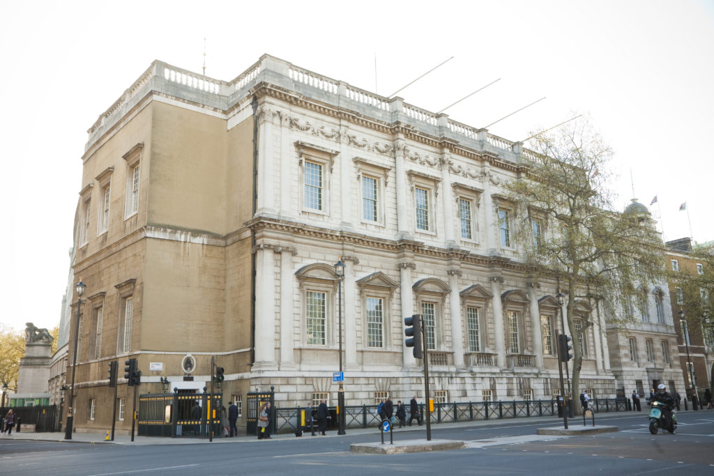 Designed by renowned architect Inigo Jones, Banqueting House is the only surviving building from the old Whitehall Palace. The Lost Palace experience starts here. (HRP)