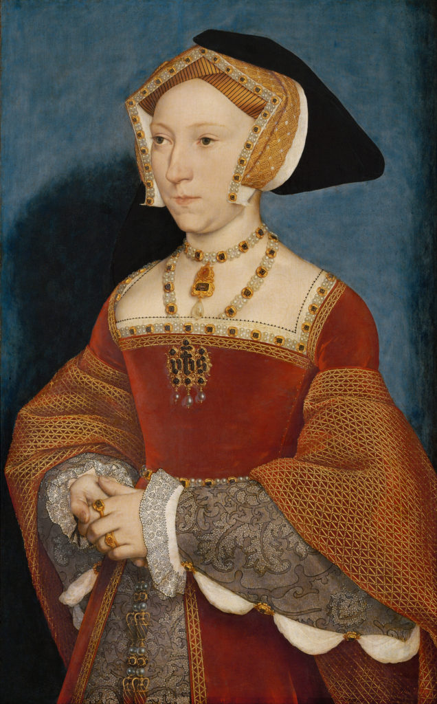 Does Jane Seymour still lurk near her apartments at Hampton Court? (wikimedia commons)