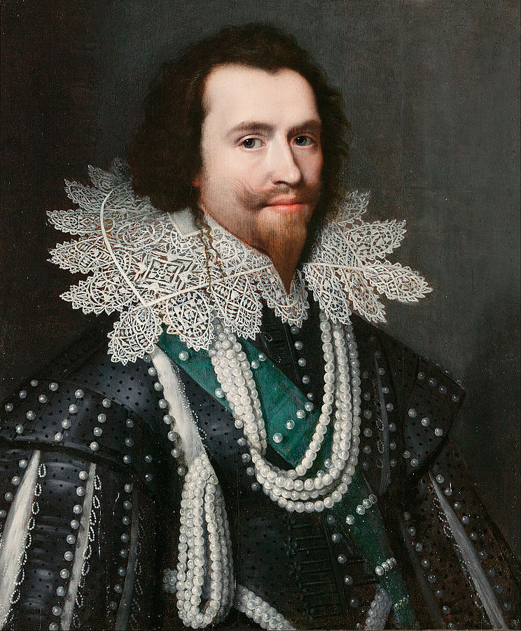 George Villiers, Duke of Buckingham, became a divisive figure for Charles I, who considered him a close friend (public domain)