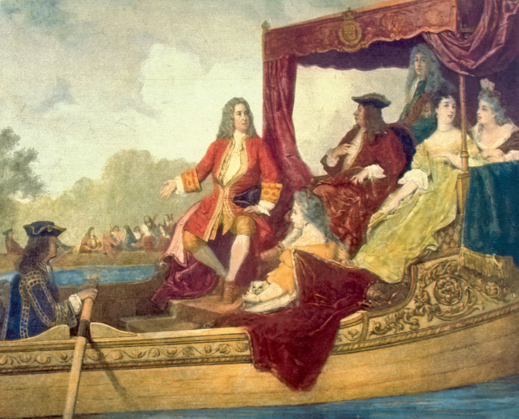 The River Thames concert saw Handel compose 'Water Music' for George I (Wikimedia Commons)