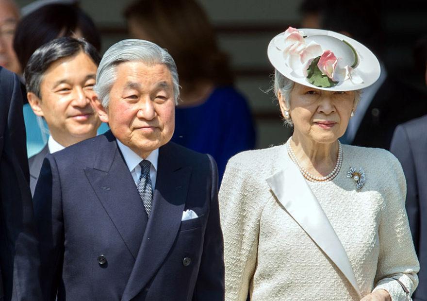 japanese Japanese Emperor Akihito will abdicate 30 april 2019