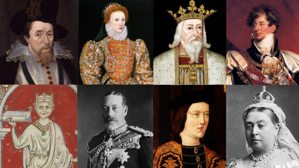 famous kings and queens - 1024×576