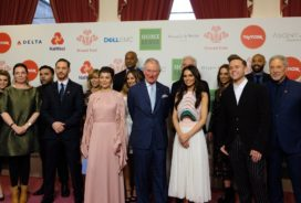 prince charles with celebs who work as ambassadors for the prince's trust