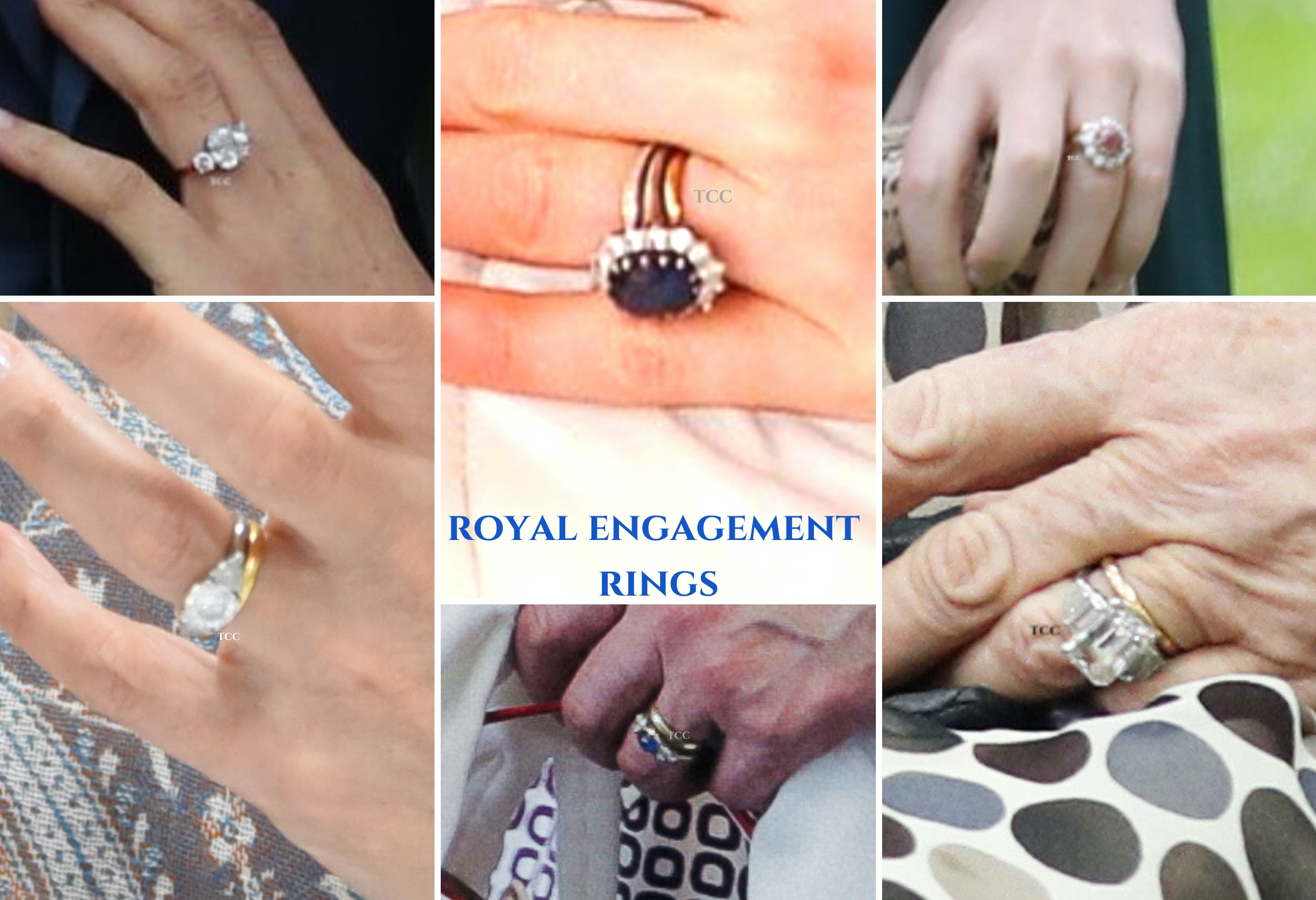 Royal Engagement Rings From Queen Mother To Princess Beatrice