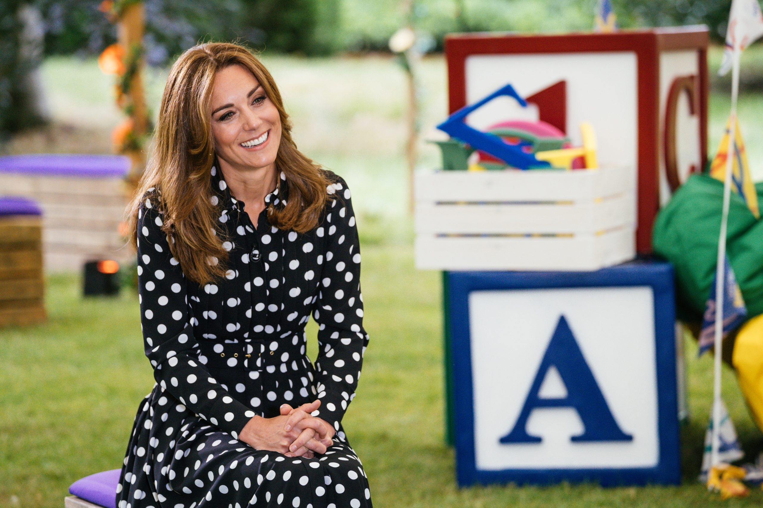Duchess of Cambridge works with BBC on 'Tiny Happy People' to fill ...